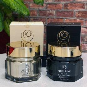 Крем для лица Adelline 24K Gold Snail Day Cream