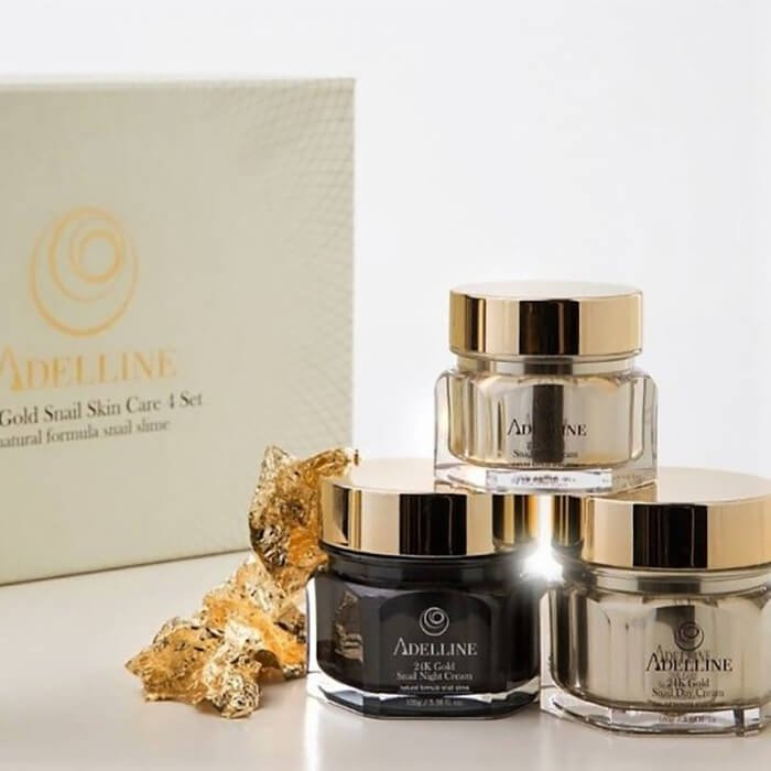 Крем для лица Adelline 24K Gold Snail Night Cream (50 г)