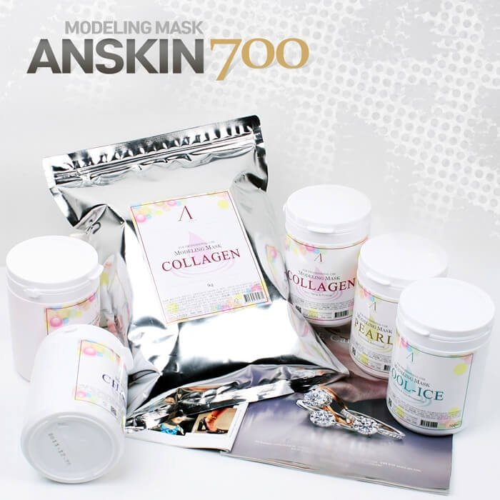 Альгинатная маска Anskin Collagen Modeling Mask (1 кг)