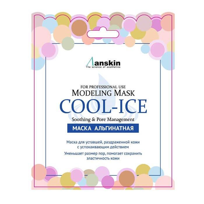 Альгинатная маска Anskin Cool-Ice Modeling Mask (Sachet)