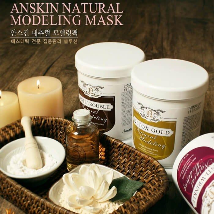 Альгинатная маска Anskin Relaxing Spa Modeling Mask