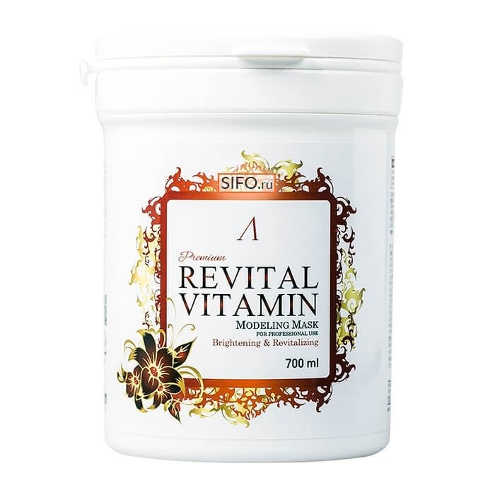 Альгинатная маска Anskin Revital Vitamin Modeling Mask
