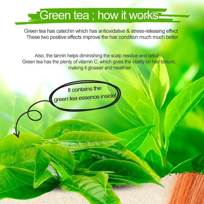 Эссенция для волос AOMI Green Tea Extract PPT Essence