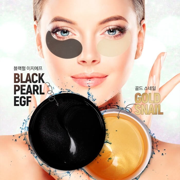 Патчи для век AOMI Gold-Snail Hydrogel Eye Patch