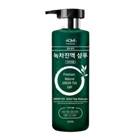Шампунь для волос AOMI Green Tea Leaf Extract Shampoo