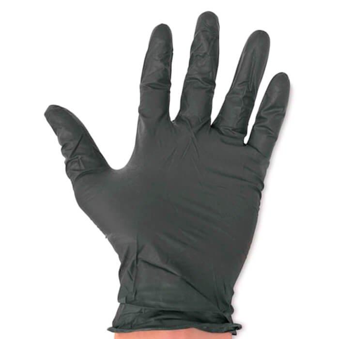 Перчатки ViniMAX чёрные виниловые