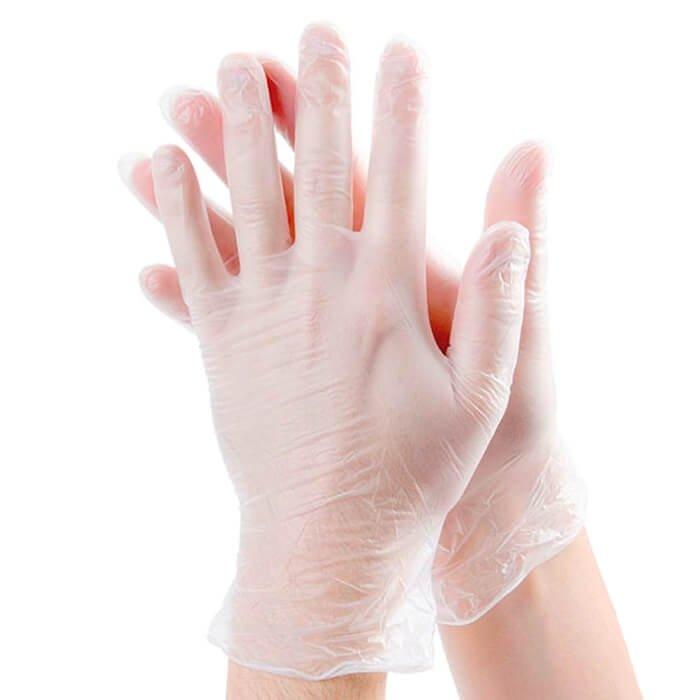 Перчатки ViniMAX прозрачные виниловые