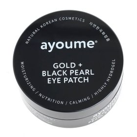 Патчи для век Ayoume Gold + Black Pearl Eye Patch