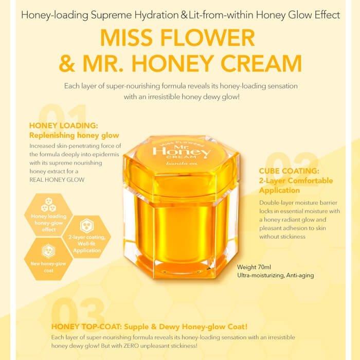 Крем для лица Banila Co. Miss Flower & Mr. Honey Cream
