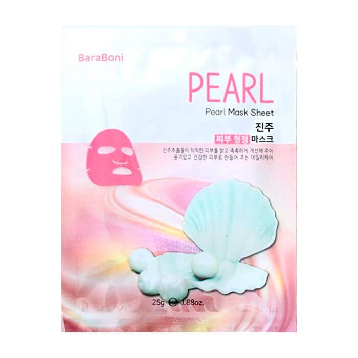Тканевая маска Baraboni Pearl Mask Sheet