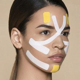 Кинезио тейп для лица BBTape Face Pack (2,5см*17м, 2 рулона)