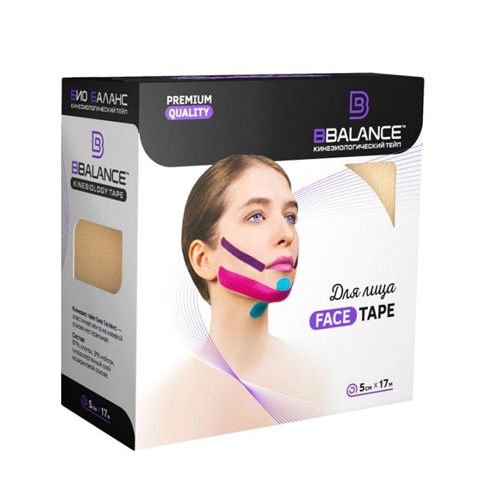 Кинезио тейп для лица BBTape Face Pack (5см*17м)