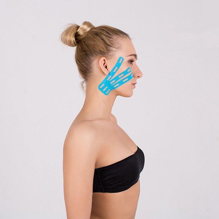 Кинезио тейп для лица BBTape Lymph Face (5см*5м)