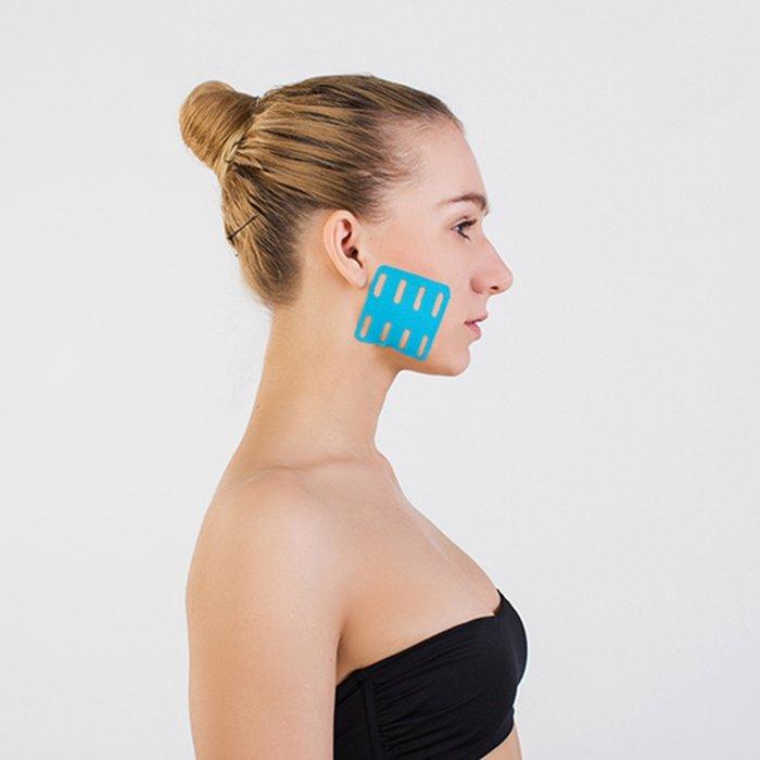 Кинезио тейп для лица BBTape Lymph Face (7,5см*5м)