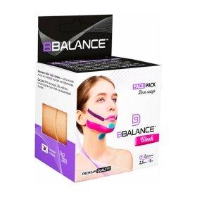 Кинезио тейп для лица BBTape Face Pack (2,5см*5м, 2 рулона) шёлковый