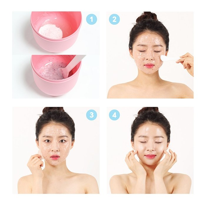 Альгинатная маска Beausta Jellychu Modeling Mask Moisture Bomb