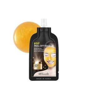 Маска-плёнка Beausta Gold Peel Off Mask