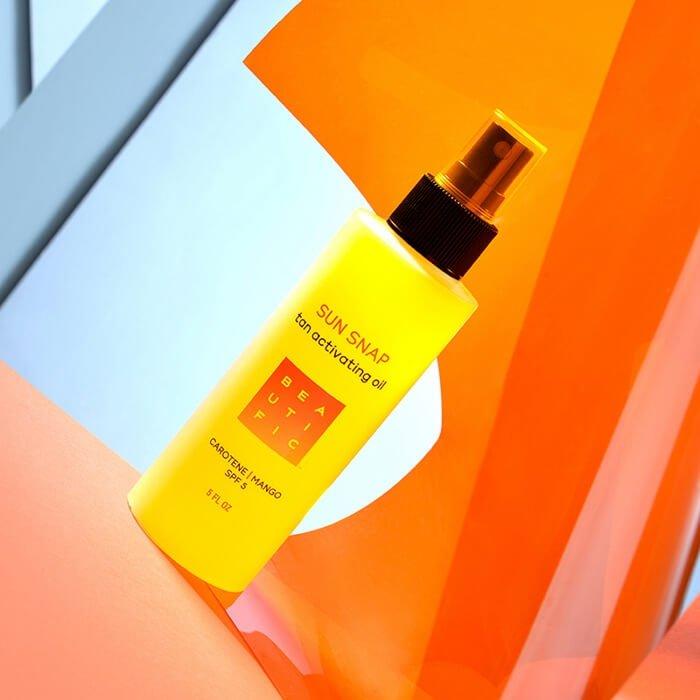 Масло для загара Beautific Sun Snap Tan Activating Oil
