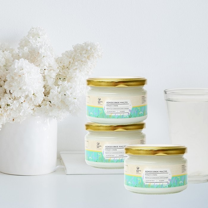 Кокосовое масло Beauty 365 Coconut Oil