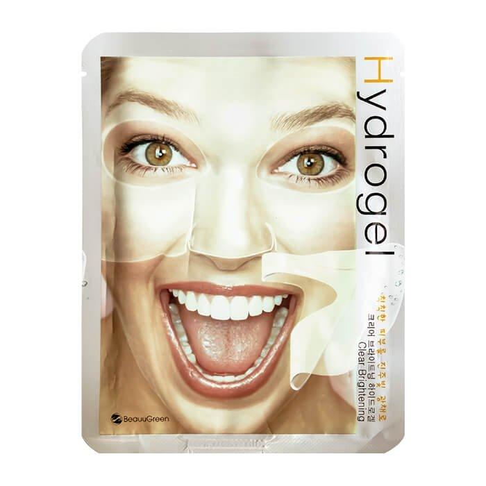 Гидрогелевая маска BeauuGreen Hydrogel Clear Brightening Mask