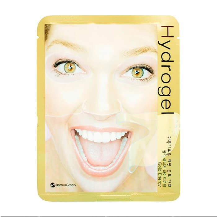 Гидрогелевая маска BeauuGreen Hydrogel Gold Energy Mask