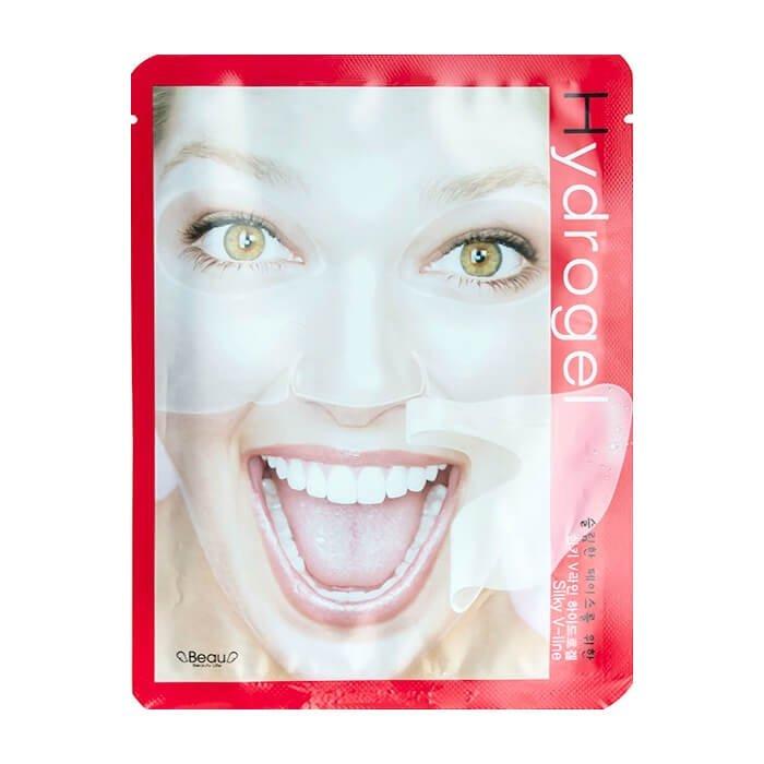 Гидрогелевая маска BeauuGreen Hydrogel Silky V-Line Mask
