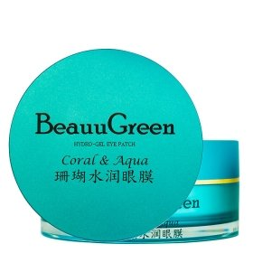Гидрогелевые патчи BeauuGreen Coral & Aqua Hydrogel Eye Patch