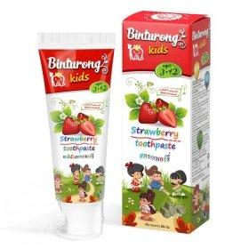 Детская зубная паста Binturong Strawberry Toothpaste