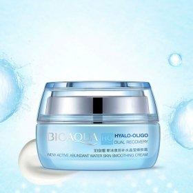 Крем для лица BioAqua Hyalo-Oligo Dual Recovery New Active Abundant Water Skin Smoothing Cream