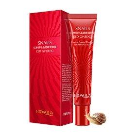 Крем для век BioAqua Natural Red Ginseng Snail Essence Eye Cream
