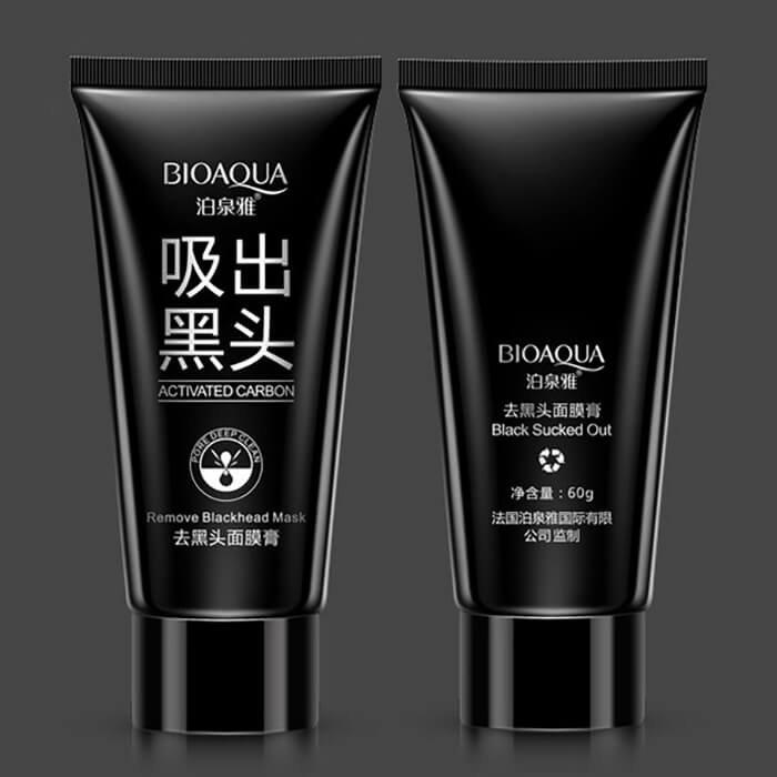 Маска-плёнка Bioaqua Activated Carbon Remove Blackhead Mask