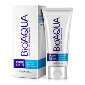 Пенка для умывания Bioaqua Pure Skin Anti Acne-light Print & Cleanser