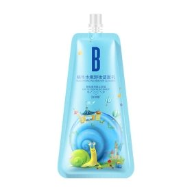 Пенка для умывания BioAqua Snail Hydrating Remover Cleanser