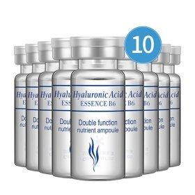 Ампульная эссенция для лица BioAqua Hyaluronic Acid Essence B6 Double Function Nutrient Ampoule