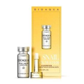 Сыворотка для лица Bioaqua Snail Liquid Lockwater