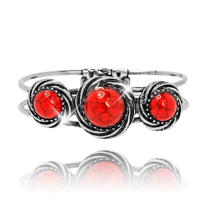 Браслет на руку Tutti Frutti - Red Stones