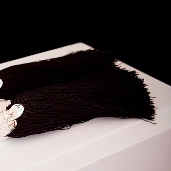 Серьги-кисти Wizard Brush - Carbon