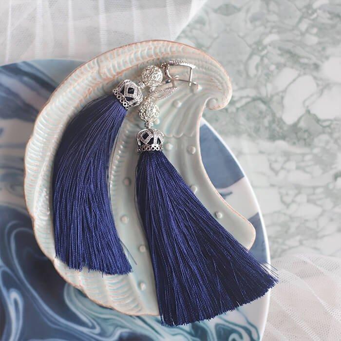 Серьги-кисти Wizard Brush - Victoria