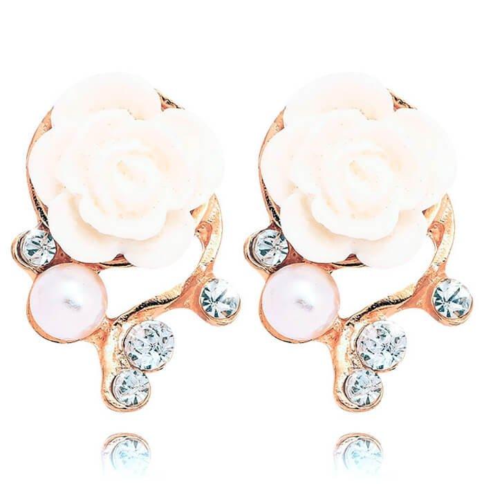 Серьги Tutti Frutti - White Rose