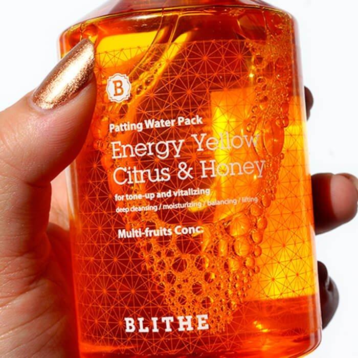 Сплэш-маска для лица Blithe Patting Splash Mask Energy Yellow Citrus & Honey