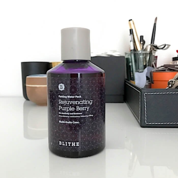 Сплэш-маска для лица Blithe Patting Splash Mask Rejuvenating Purple Berry