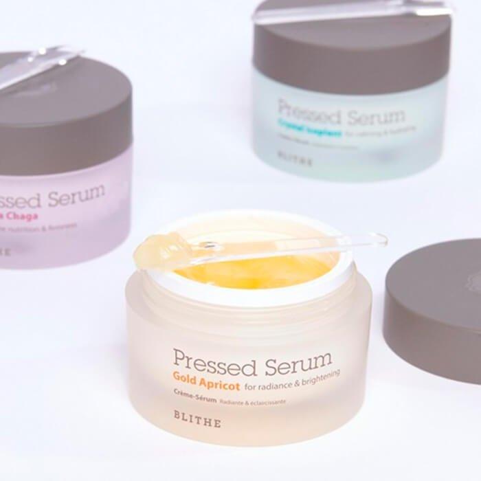 Сыворотка для лица Blithe Pressed Serum Crystal Gold Apricot