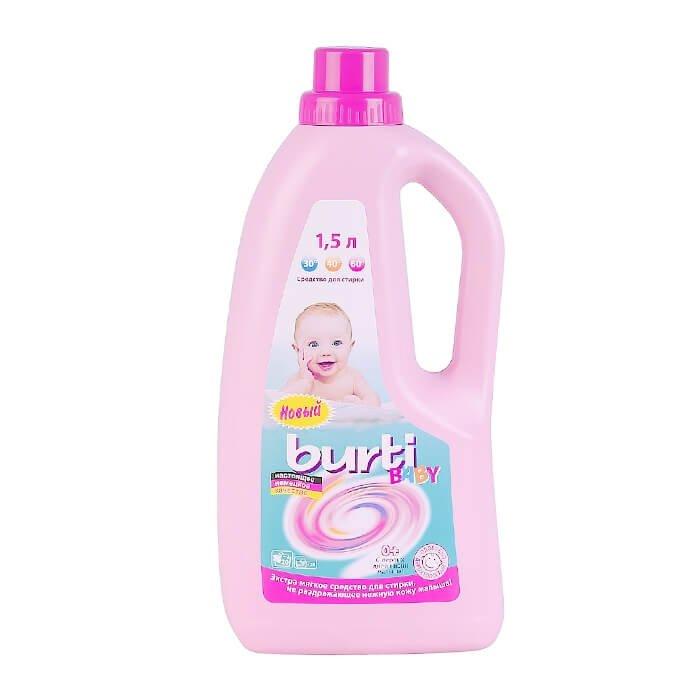 Жидкое средство для стирки Burti Baby Liquid (1,5л)