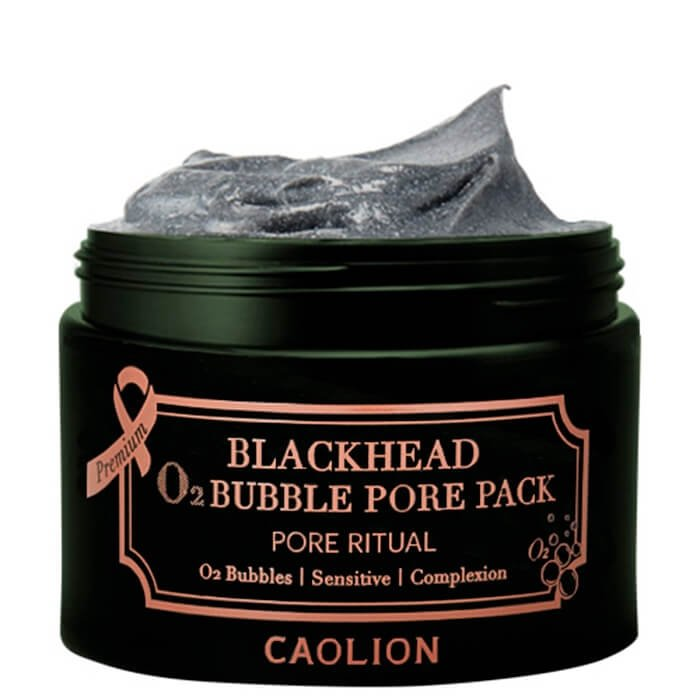 Кислородная маска Caolion Blackhead O2 Bubble Pore Pack