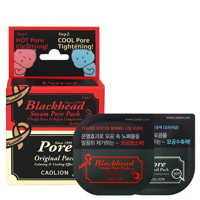 Набор миниатюр Caolion Premium Hot & Cool Pore Pack Duo (Deluxe)