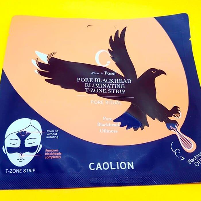 Патч для Т-зоны Caolion Pore Blackhead Eliminating T-Zone Strip