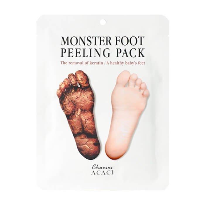 Носочки для пилинга Chamos Acaci Monster Foot Peeling Pack