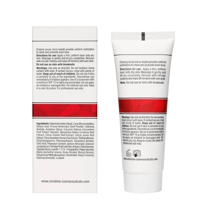 Скраб для лица Christina Comodex Scrub & Smooth Exfoliator