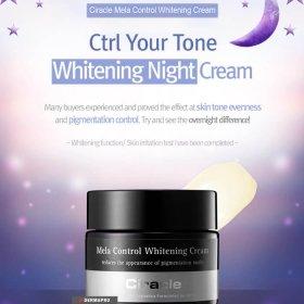Ночной крем для лица Ciracle Mela Control Whitening Cream