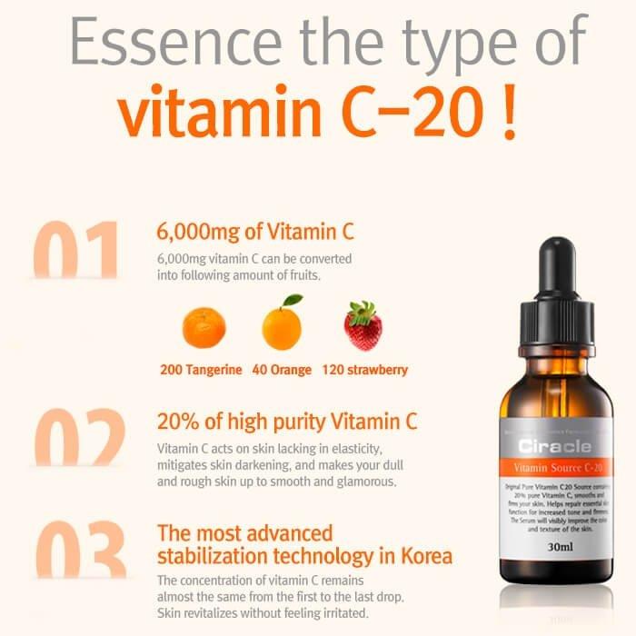 Сыворотка для лица Ciracle Vitamin Source C-20